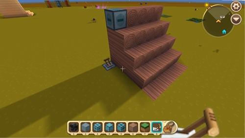 迷你世界两用滑动梯怎么做 两用滑动梯教程