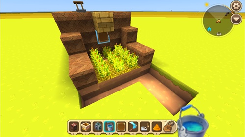 迷你世界水坝小麦收割机怎么做 水坝小麦收割机教程