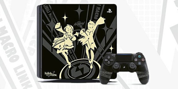 索尼携手B站推出定制版PS4主机 2233娘剪影上镜