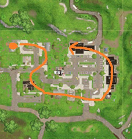 堡垒之夜手游零售商场资源一览 行进路线推荐