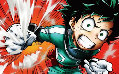 快爆爆爆团 周边 正文  《我的英雄学院》拥有着jump系漫画一脉相承的