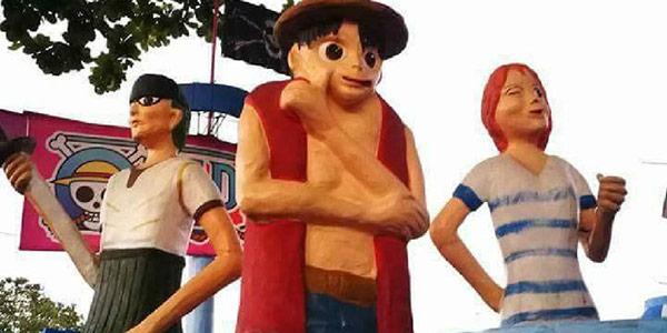 丑出新高度!菲律宾主题公园惊现二次元辣眼雕像