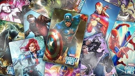 你见过这样的美国队长吗 漫威卡牌新作《Marvel 战线》曝光