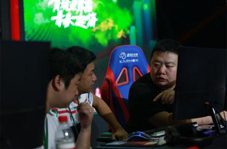 贪玩游戏嘉年华 3v3比赛