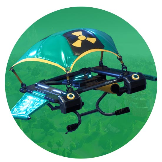 堡垒之夜手游滑翔机崩溃怎么得 Meltdown滑翔机介绍