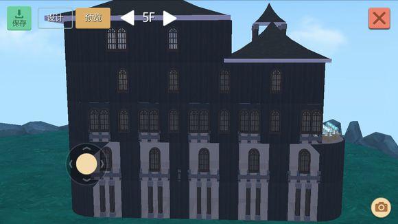 创造与魔法黑色城堡平面设计图