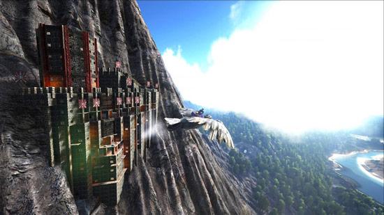 方舟生存进化悬崖