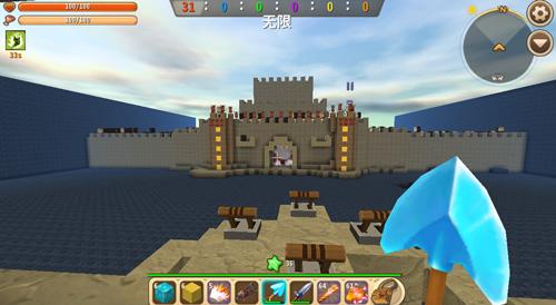 迷你世界解謎存檔:[進攻城堡解救公主] 好玩存檔分享