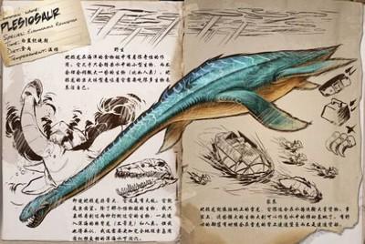 方舟生存进化蛇颈龙代码