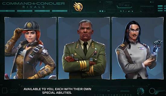 A公布经典RTS系列手游新作《命令与征服:宿敌》