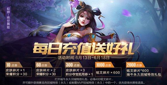 王者荣耀6月13日更新
