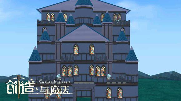 创造与魔法花窗别墅平面设计图 花窗别墅建筑设计图纸