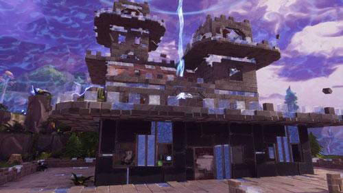 《堡垒之夜》中的建造