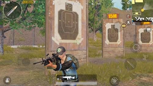 绝地求生刺激战场M249