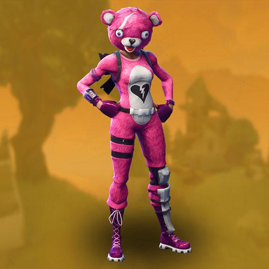 堡垒之夜手游粉红熊皮肤怎么获得 粉红熊服装获取介绍
