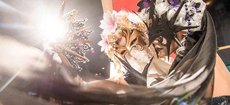 第五人格杭州邀请赛现场cos 黑白红蝶惊艳登场