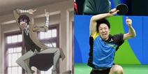 """打球打得好不如表情做得好 乒乓球选手水谷隼""""cos照""""爆红网络"""
