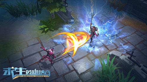 《求生:英雄峡谷》游戏战斗