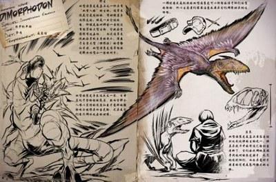 方舟生存进化双型齿翼龙
