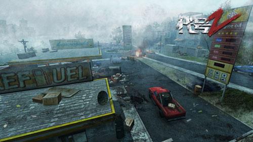 《代号:Z》游戏宣传图 破败的城市
