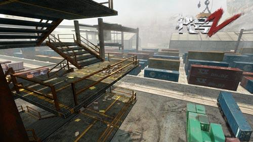 《代号:Z》游戏宣传图 码头