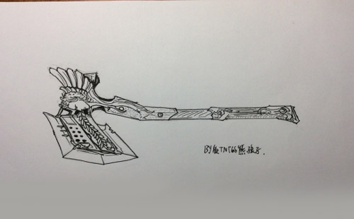 CF手游天使系列手绘4