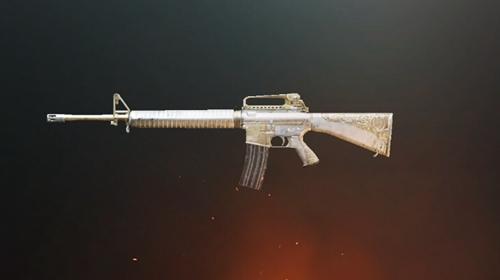 绝地求生刺激战场M16A4皇家风范皮肤