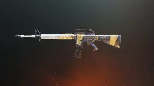 和平精英M16A4星辰皮肤