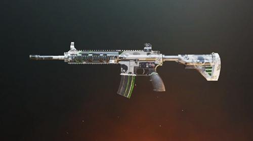 和平精英M16A4死亡收割皮肤
