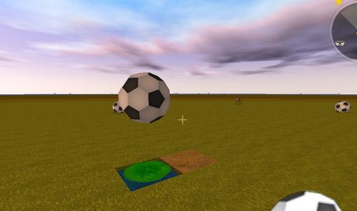迷你世界弹动浮空足球装饰3