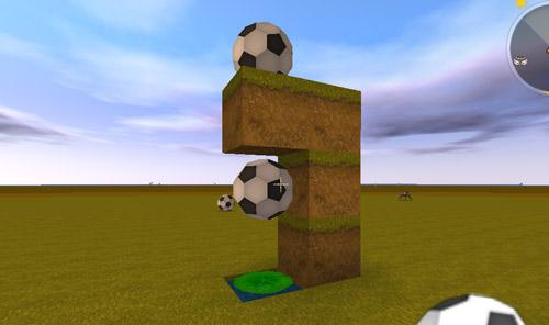 迷你世界弹动浮空足球装饰4
