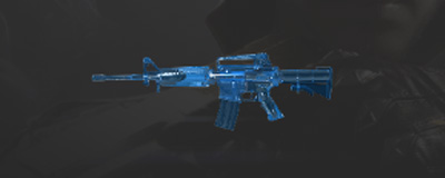 CF手游M4A1-蓝水晶