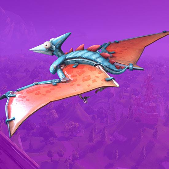 堡垒之夜手游滑翔机翼龙怎么得 翼龙滑翔伞介绍