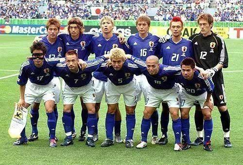 2002年日本队员