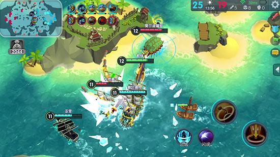 魔兽争霸3经典地图《BOOM海战》手游曝光