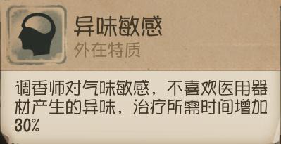 第五人格调香师技能