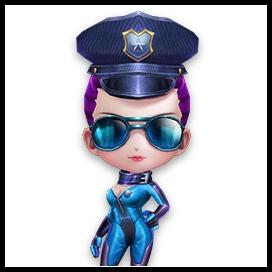 逃跑吧少年警服套装 女特工警服套装展示