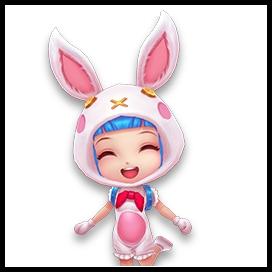 逃跑吧少年兔子套装 小学妹兔子套装展示