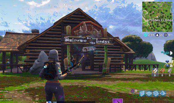 堡垒之夜手游第5赛季预兆?孤独小屋发生变化!