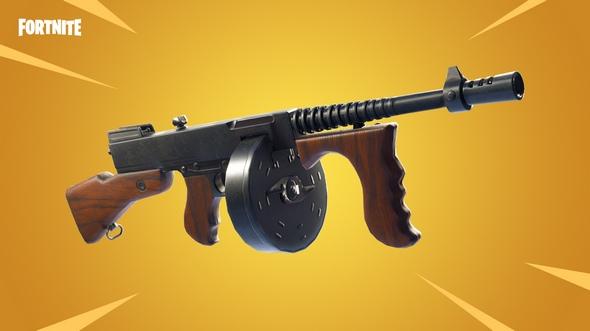 堡垒之夜手游v4.5.1版本更新 新武器汤姆逊步枪登场