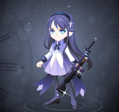 奥比岛枪术梦想少女装图鉴