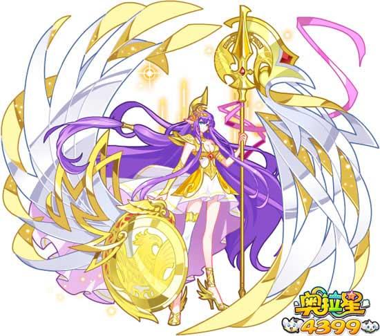 奥拉星智慧女神雅典娜
