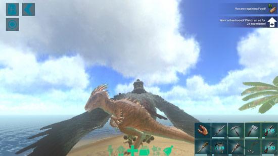 方舟生存进化手机版恐龙技能使用方法