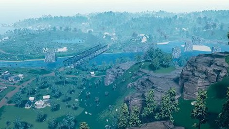 绝地求生刺激战场雨林地图壁纸欣赏 刺激战场雨林地图高清壁纸下载
