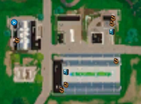 堡垒之夜手游野区室内足球场资源介绍 宝箱及地区详解
