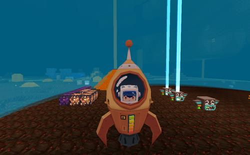 迷你世界火箭发射