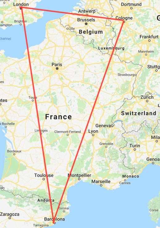 堡垒之夜手游美洲驼出现在欧洲四个城市 现实与游戏相连?