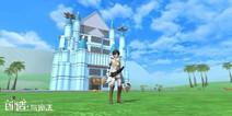 创造与魔法蓝色城堡建筑设计图 蓝色城堡平面设计图