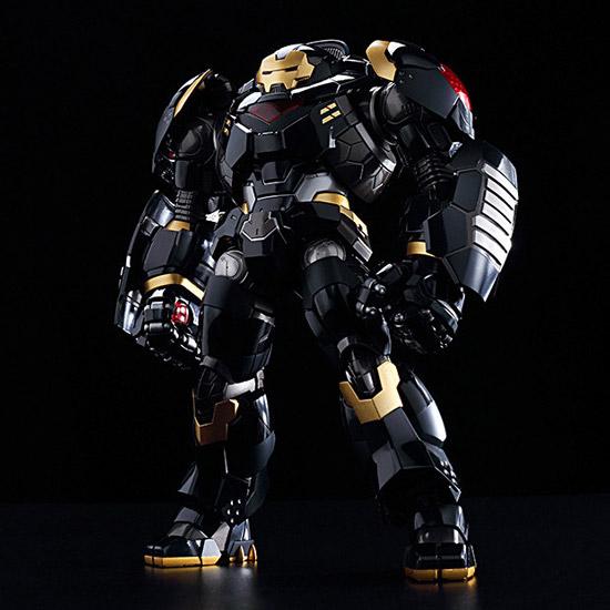 钢铁侠反浩克装甲黑色版玩具