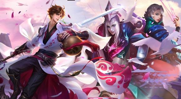 王者荣耀元歌和李白